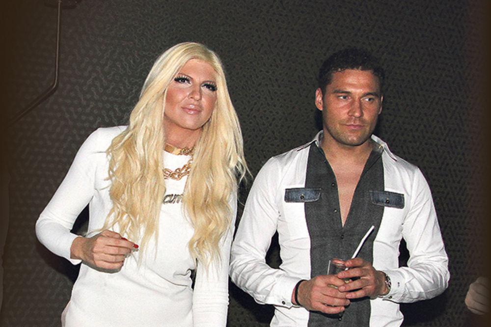 Jelena Karleuša i Duško Tošić, foto: Damir Dervišagić