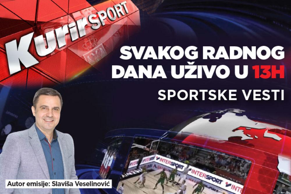 KURIR SPORT UŽIVO: Ovo su timovi sa kojim će Zvezda i Partizan večeras istrčati na teren