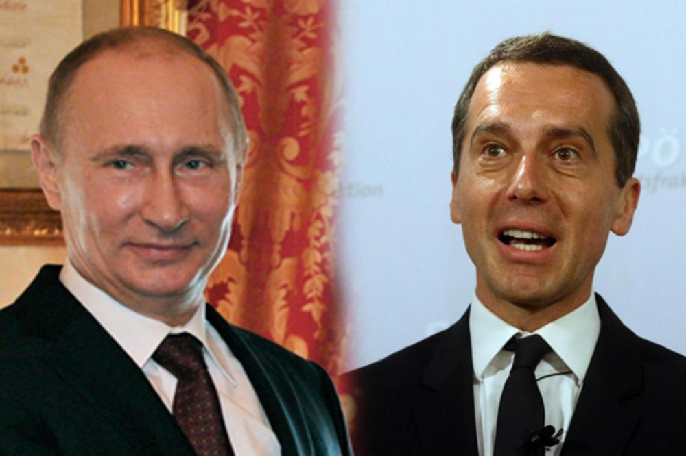 BEČ OČEKUJE NOVE VEZE S MOSKVOM: Sve oči uprte u sastanak Putina i Kerna na ruskom Davosu