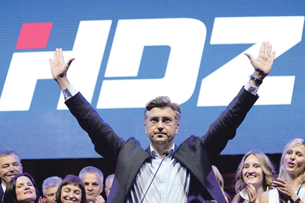 HDZ SUNOVRAT: Sve manja podrška vladajućoj stranci, Plenković najomraženiji!