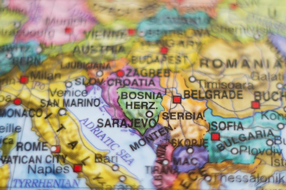 Balkan, Mapa