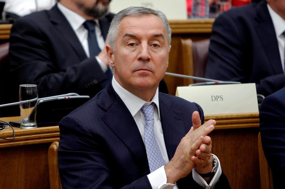 DPS SE OGLASIO POSLE SUDARA: Đukanović je dobro