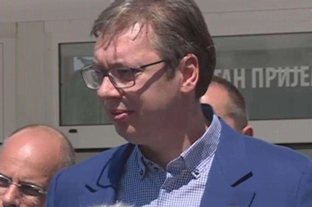 Vučić: Ljudi će dolaziti u Takovoda se upoznaju sa istorijom, moramo da uložimo 5 miliona