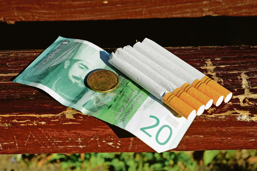 Prihod od duvana 11 odsto budžeta