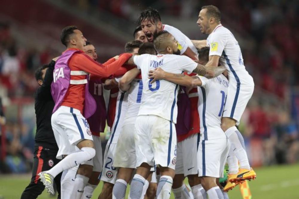 (VIDEO) TEHNOLOGIJA U PRVOM PLANU: Vidal i Vargas doneli pobedu Čileu protiv Kameruna