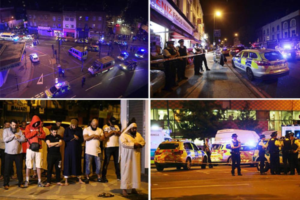 (VIDEO) 1 MRTAV U NAPADU U LONDONU Uleteo kombijem u grupu vernika kod džamije i vikao: Pobiću sve muslimane!
