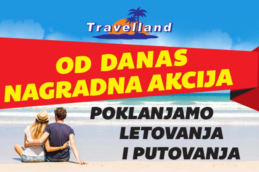 OD DANAS VELIKA NAGRADNA AKCIJA U KURIRU Travelland svaki dan nagrađuje najbolji vic!