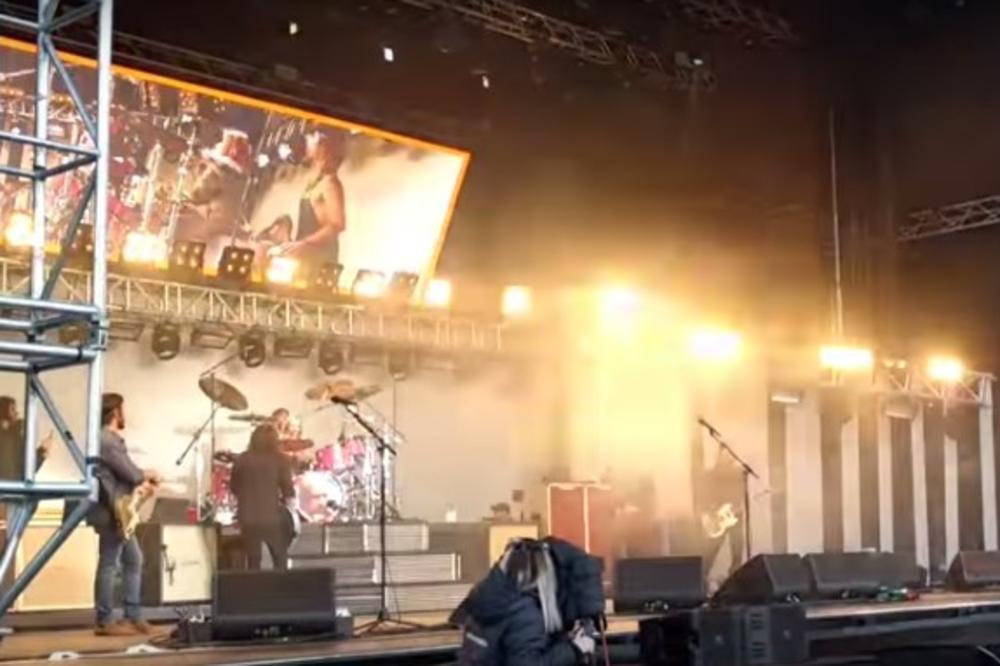 (VIDEO) ĆERKA DEJV GROLA IMA SAMO 8 GODINA: Briljirala je na bubnjevima pred 20.000 ljudi!