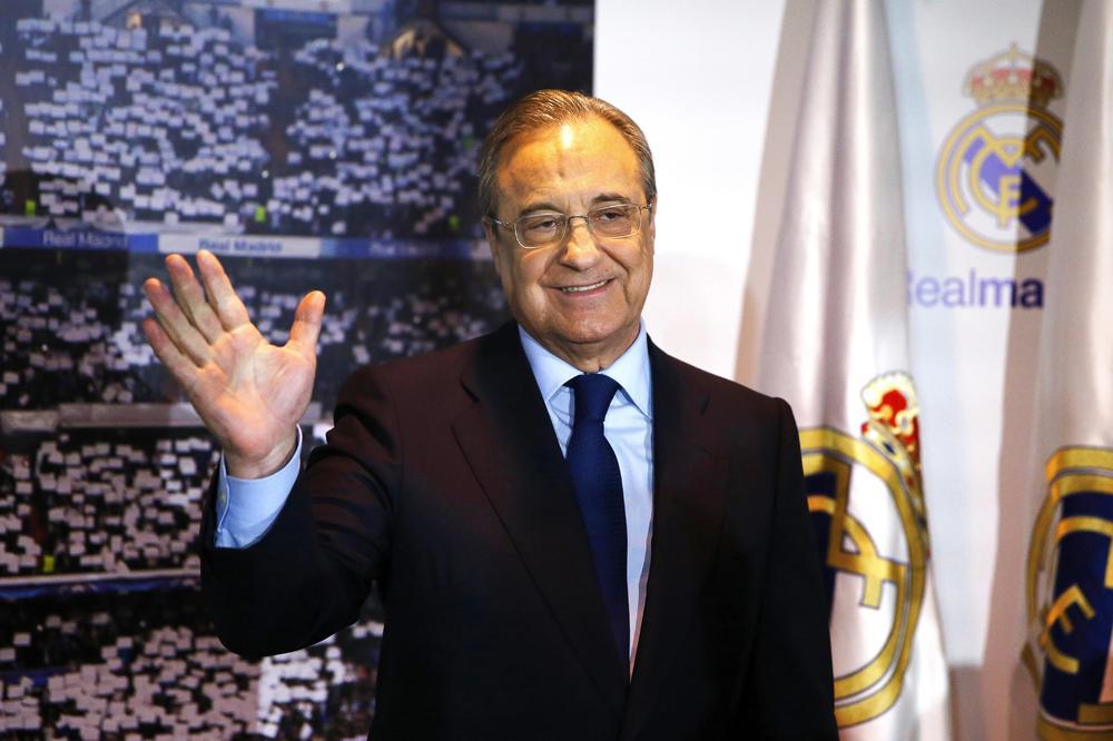 NASTAVLJA DA VLADA: Florentino Peres opet izabran za predsednika Reala