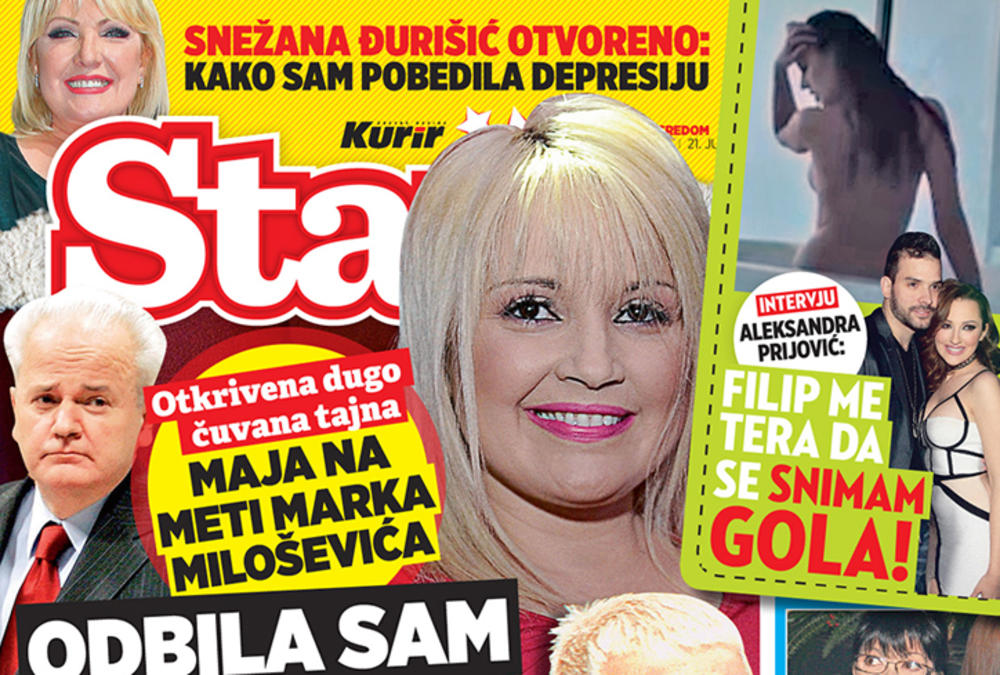 MAGAZIN STARS SAZNAJE: Maja Nikolić odbila Marka Miloševića!