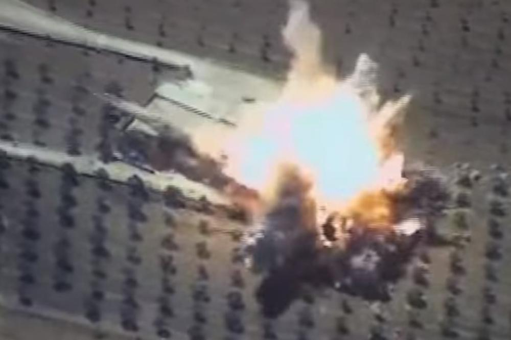 (VIDEO) RUSI KRSTAREĆIM RAKETAMA GAĐALI DŽIHADISTE: Komandni centri Islamske države u Siriji sravnjeni sa zemljom!