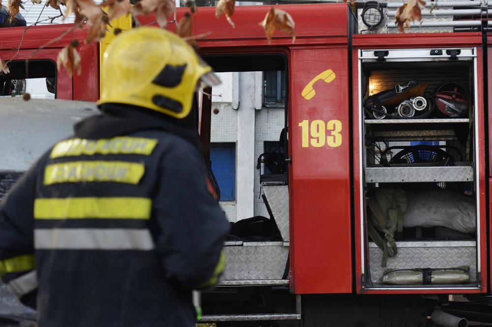 DRAMA U NOVOM SADU: Izbio požar u zgradi policije