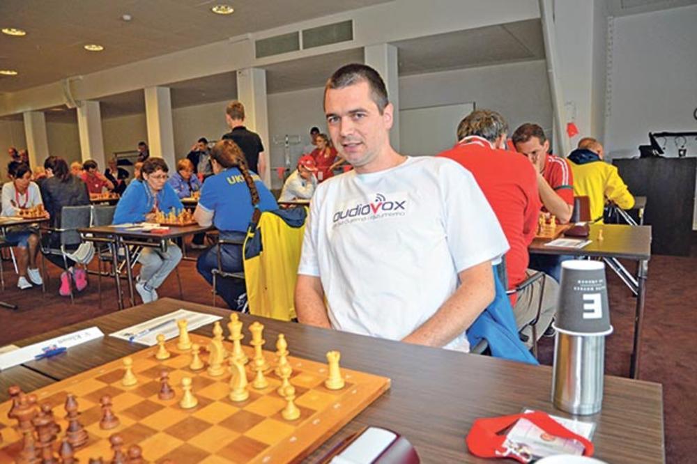 ŠAMPION: Vladimir Klasan najbolji šahista u Evropi