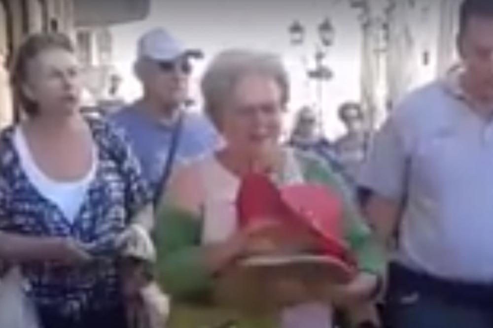 (VIDEO) DETE MI JE BOLESNO OD LEUKEMIJE, NE DIRAJTE ME: Komunalci terali prodavačicu sa ulice, a onda se pojavio čovek koji im je uterao strah u kosti!