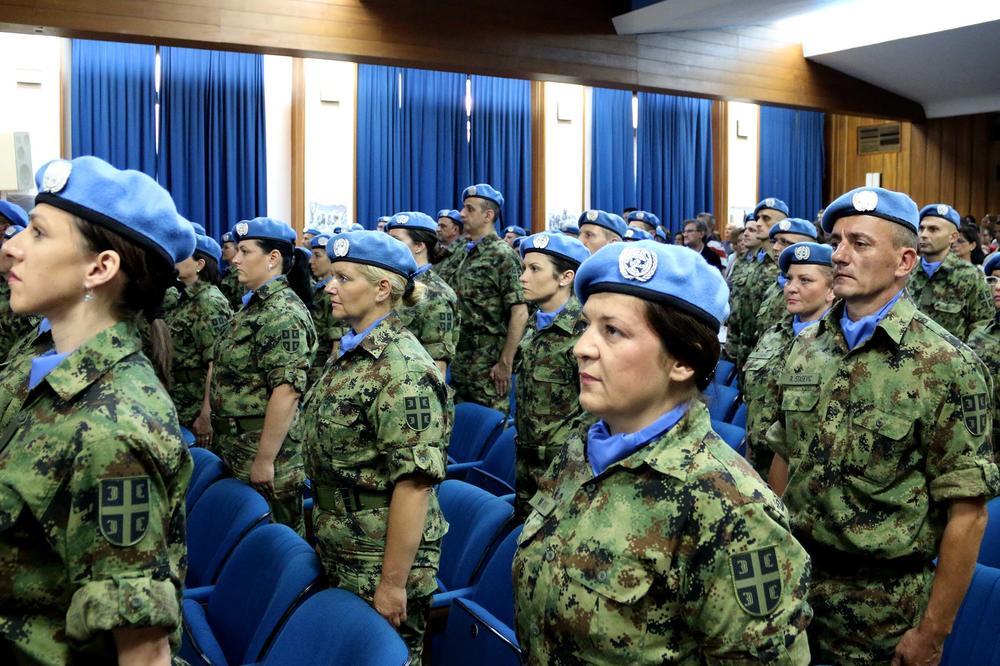 70 SRPSKIH VOJNIKA ISPRAĆENO U CENTRALNOAFRIČKU REPUBLIKU: 6 meseci će medicinski zbrinjavati snage UN