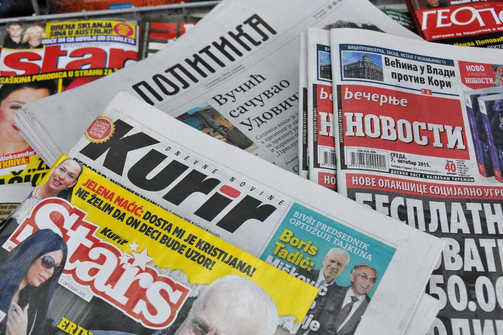 POKRET SLOBODNIH GRAĐANA:  Vlada da prekine medijski mrak u Srbiji!