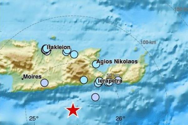 NOVI ZEMLJOTRES RAZARA GRČKU – Na Kritu zabeležen udar od 4,5 Rihterove skale!