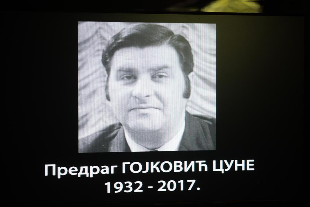 PRIJATELJI I KOLEGE ISPRATILI CUNETA: Na Novom groblju sahranjen Predrag Gojković!