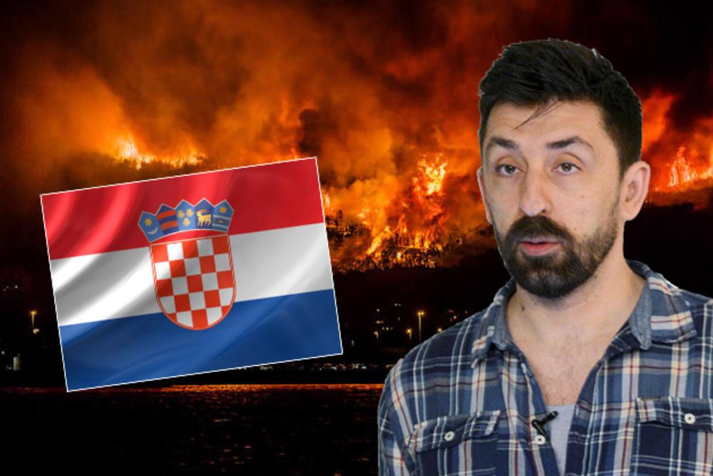 DOBIO JE JEZIVE PRETNJE: Ognjen Amidžić se oglasio nakon tvita o požarima u Hrvatskoj koji je uzburkao Balkan!