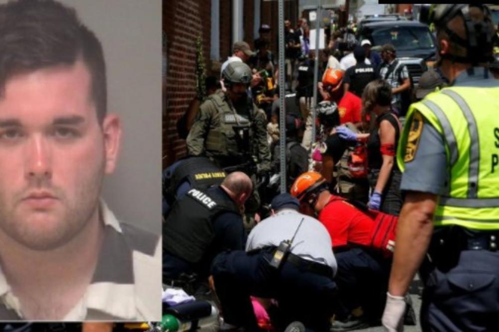 (VIDEO) OBJAVLJEN SNIMAK KRVAVOG PIRA DESNIČARA U VIRDŽINIJI: Ovo je momak (20) koji je autom uleteo u masu, FBI pokrenuo istragu!
