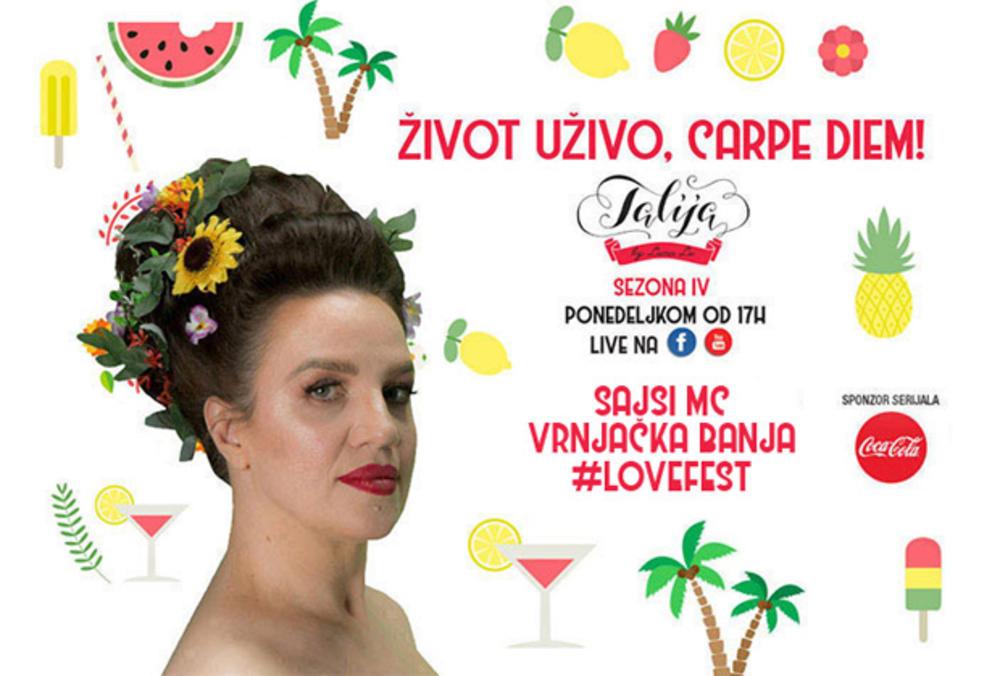 TALIJA - ŽIVOT UŽIVO, CARPE DIEM: Festival ljubavi i dejt sa Sajsi MC