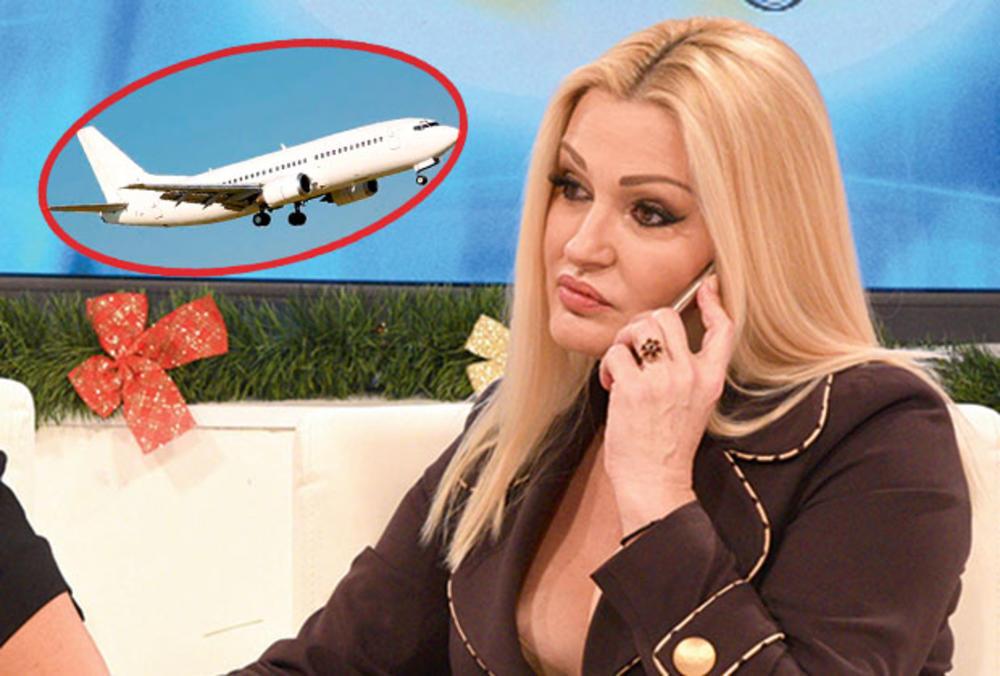 PEVAČICA NAPRAVILA SKANDAL: Posle žestoke svađe, Sanja je izbačena iz aviona!