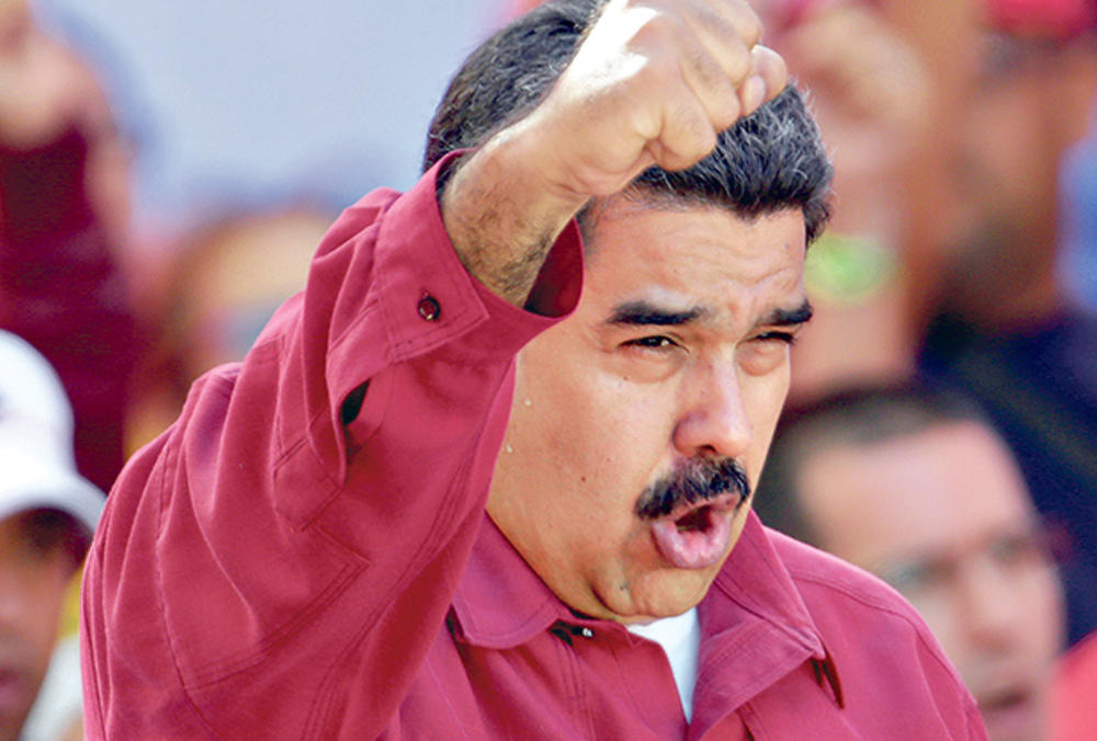 NIKOLAS MADURO, FOTO: REUTERS