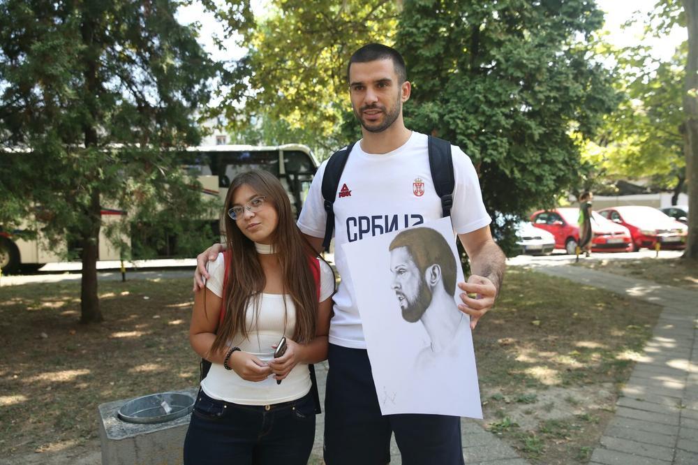 LOŠA VEST! Košarkaši Srbije bez Branka Lazića do kraja Evrobasketa