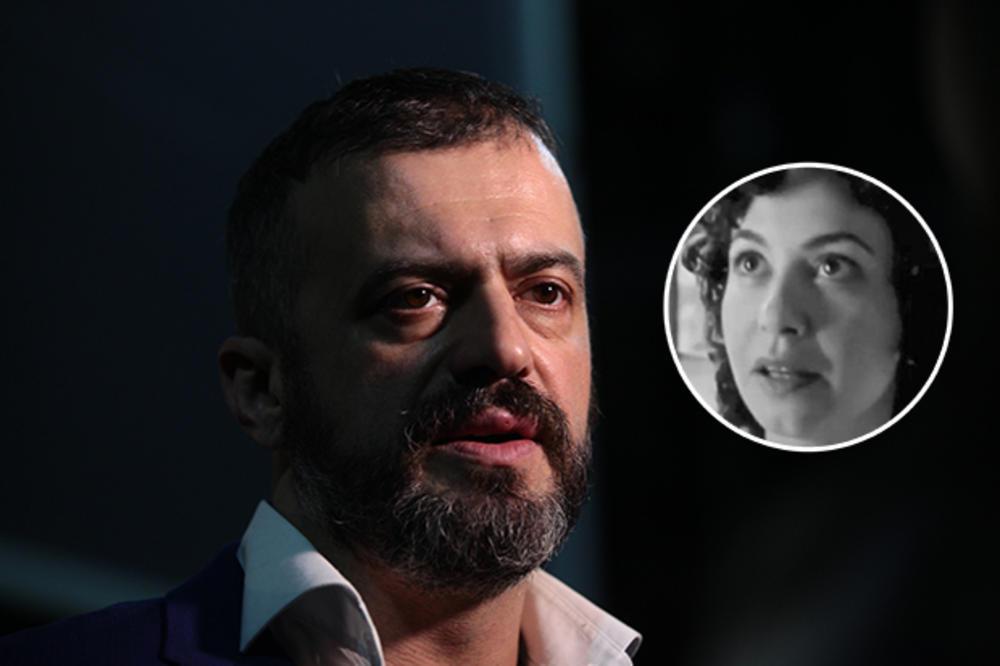 (FOTO) JEDNA REČ JE BILA DOVOLJNA: Poruka kojom se Sergej Trifunović oprostio od preminule koleginice mnoge je rasplakala
