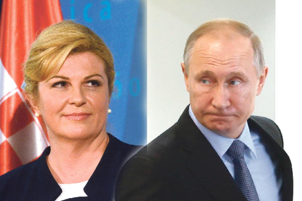 KOLINDA NOSI PORUKU NATO: Putine, ne naoružavaj Srbiju!