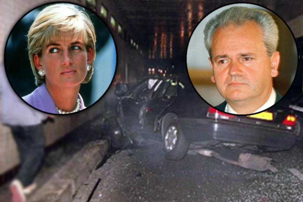 SPREMALI SCENARIO ZA MILOŠEVIĆA, PA GA PRIMENILI NA PRINCEZI DAJANI: MI6 hteo Slobu da ubije u tunelu?!