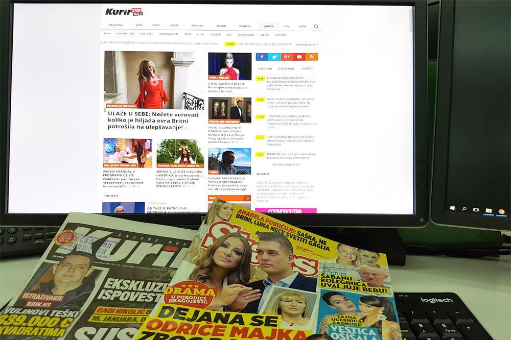 VRHUNSKI REZULTATI KURIRA 2,3 miliona nas čita svakog dana: Natprosečni rast prodaje štampanog izdanja i posete sajtu potvrđuje da javnost prepoznaje i ceni kvalitet i slobodu
