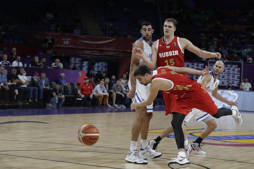 VELIKI PREOKRET ZBORNAJE: Rusi preko Grčke do polufinala Evrobasketa i sada čekaju Orlove