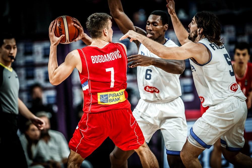 (KURIR TV) SRBIJA U POLUFINALU EVROBASKETA: Orlovi savladali Italiju, za finale protiv Rusije, Bogdanović brojao do 22