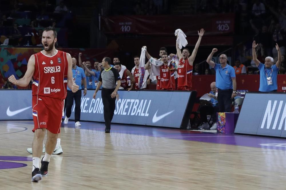 (KURIR TV) SRPSKI KOŠARKAŠI PONOSNI: Idemo da se pobijemo s Rusima za finale