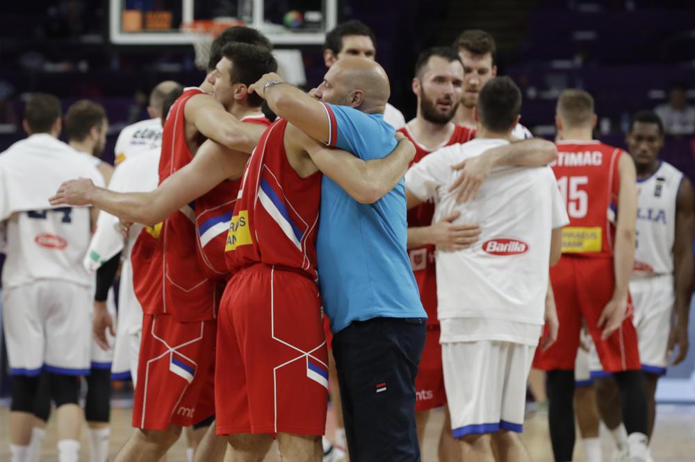 OVO MORATE PROČITATI: Evo kako je Đorđević hvalio igrače posle plasmana u polufinale Evrobasketa