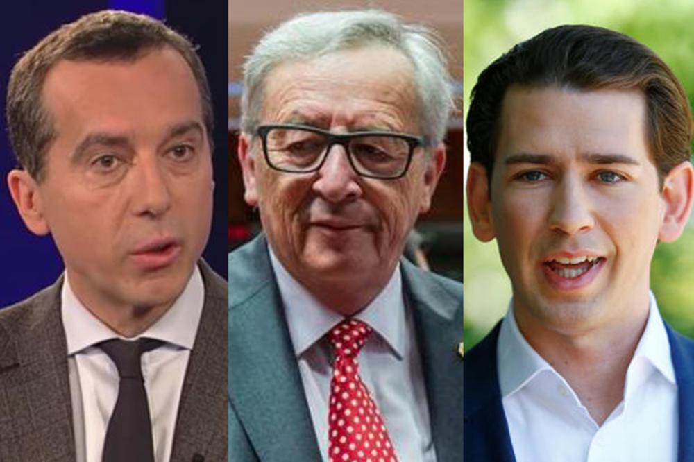 AUSTRIJA PROTIV PROŠIRENJA EVRO ZONE: Kern i Kurc smatraju Junkerov predlog o evru za sve članice EU, nepromišljenim!