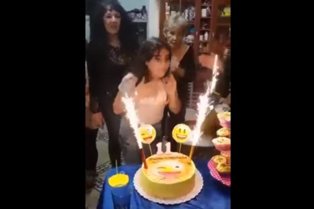 (VIDEO) HOROR NA ROĐENDANSKOJ PROSLAVI: Slavljenica (11) duvala svećice pa završila u bolnici!