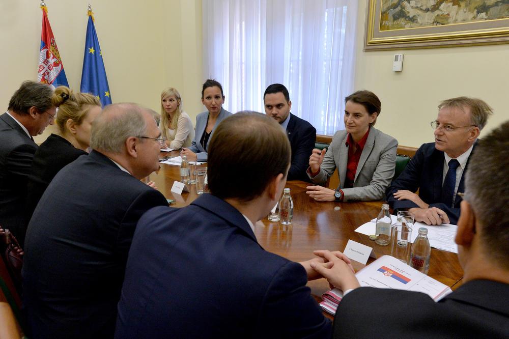 DOBRI ODNOSI SA AUSTRIJOM: Brnabić i austrijski vicekancelar o saradnji i evrointegracijama