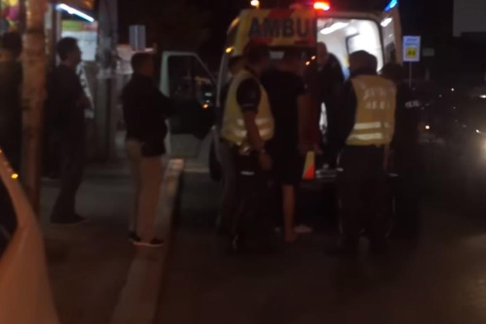 (VIDEO) INCIDENT U OBRENOVCU: Pijani migrant pokušao da ukrade piće iz frižidera pa nasrnuo na radnika i počeo da razbija flaše