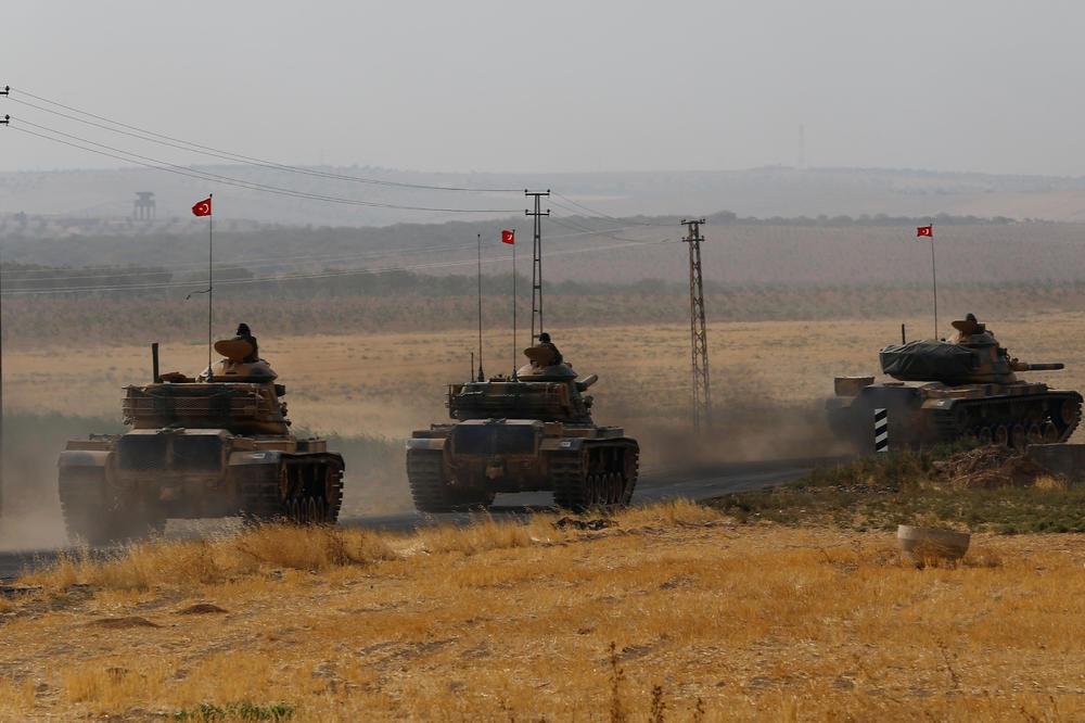 TURSKI TENKOVI NA SIRIJSKOJ GRANICI: Moguće operacije protiv Kurda