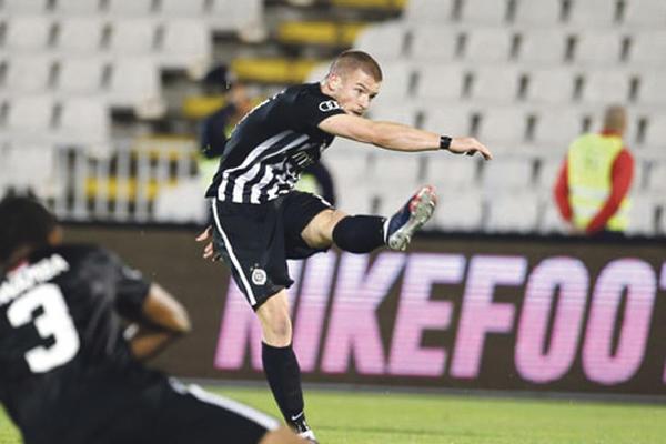 (UŽIVO, VIDEO): Rad - Partizan 0:2, strelci Ožegović i Mitrović