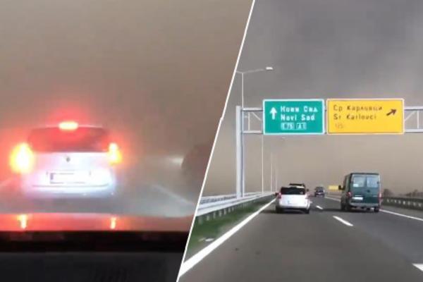 (VIDEO) TORNADO KOD STARE PAZOVE: Vozili su za Novi Sad, a