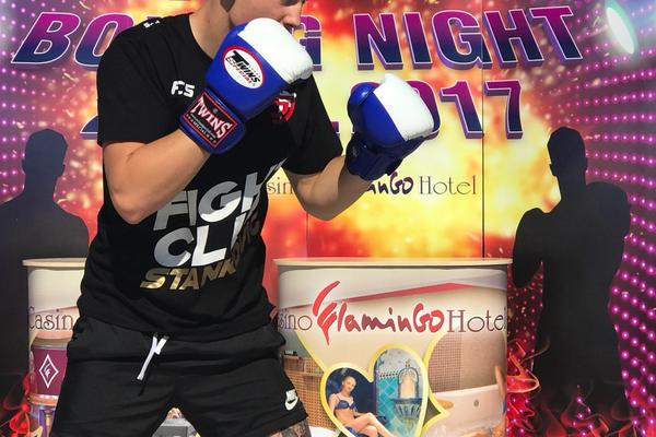SPEKTAKL: Gurdijeljac održao promotivni čas boksa