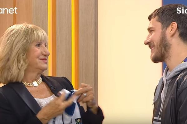 (VIDEO) IZLJUBILI SE PO SRPSKI TRI PUTA: Dirljiv susret Gorana