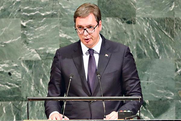VUČIĆ U UN: Ne dozvolite da Kosovo uđe u Unesko!