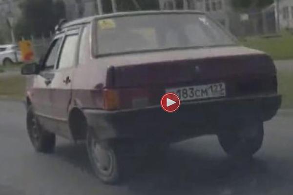 (VIDEO) KAKVE VEZE IMA ŠTO IM JE TOČAK BLOKIRAN: Rus u krntiji