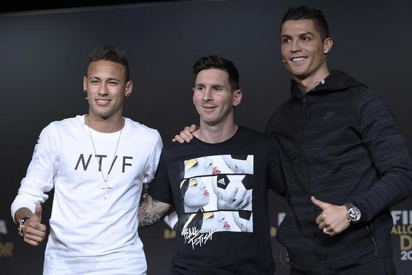 FIFA BIRA NAJBOLJEG NA SVETU: Ronaldo juri Mesija, Nejmar autsajder