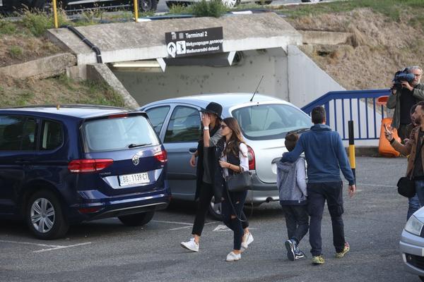 (KURIR TV) EKSKLUZIVNO! Ana Ivanović bez Švajnija doputovala