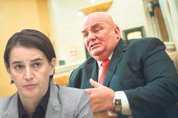 DRAGAN MARKOVIĆ PALMA: Neću na svadbu kod Ane Brnabić